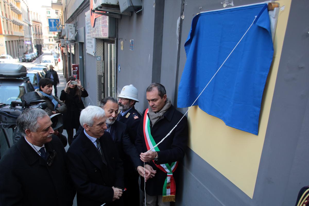 Napoli - 28 novembre 2015 | RIPRISTINO DELLA DENOMINAZIONE STORICA DI «VIA DEI GRECI»