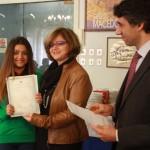 Consegna dei certificati di competenza linguistica | Απονομή πιστοποιητικών ελληνομάθειας